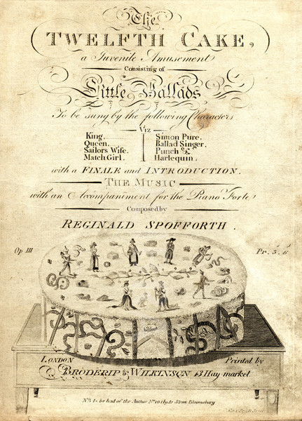 The Twelfth Cake - Twelfth Night